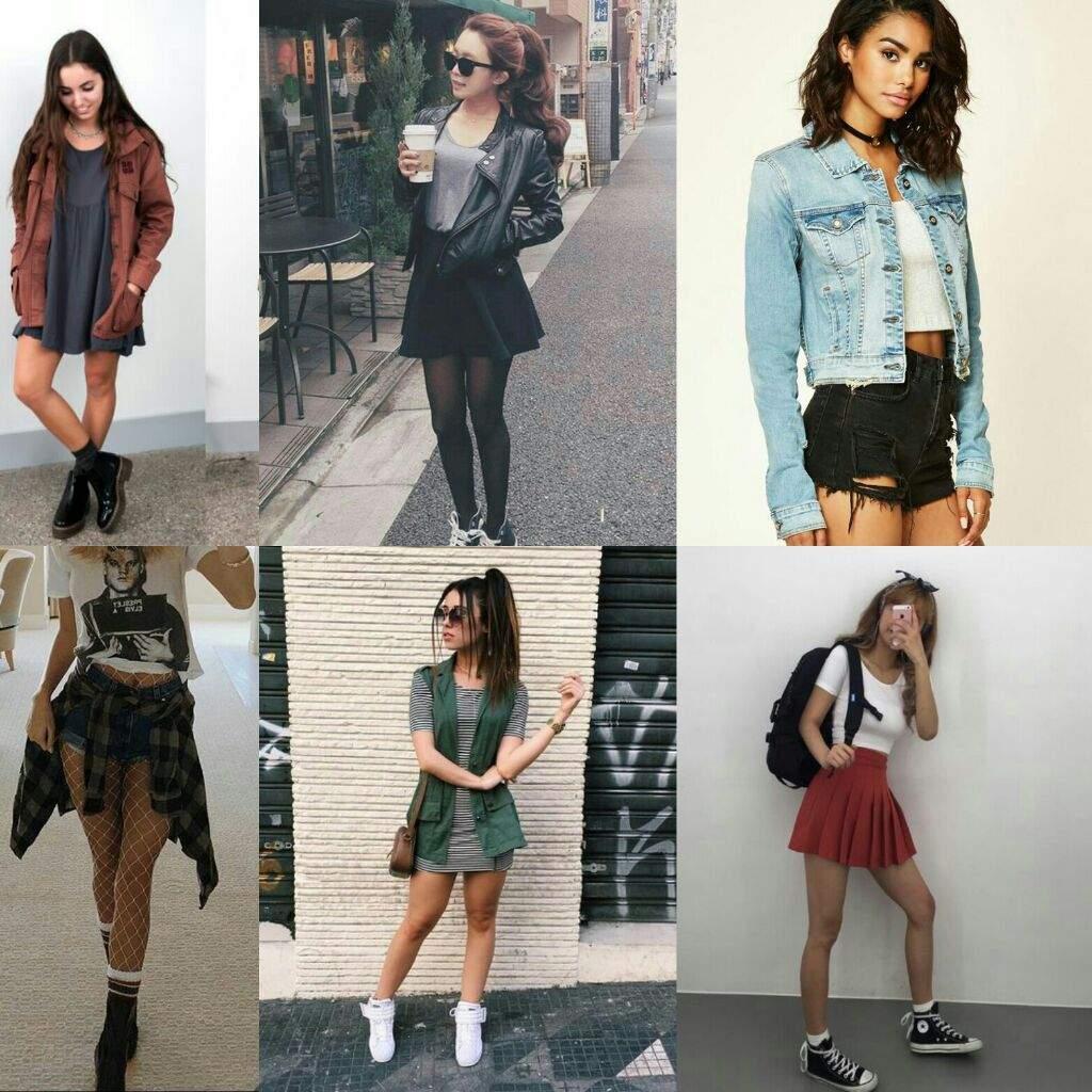 diferentes ideas de outfits
