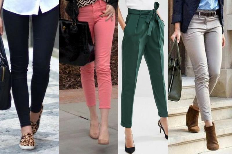 diferentes estilos de pantalones