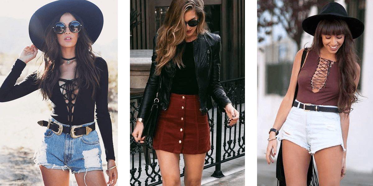 diferentes outfits basicos