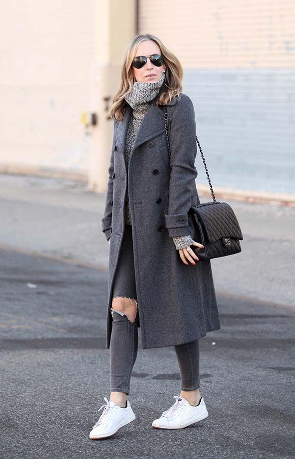 outfit chic de invierno
