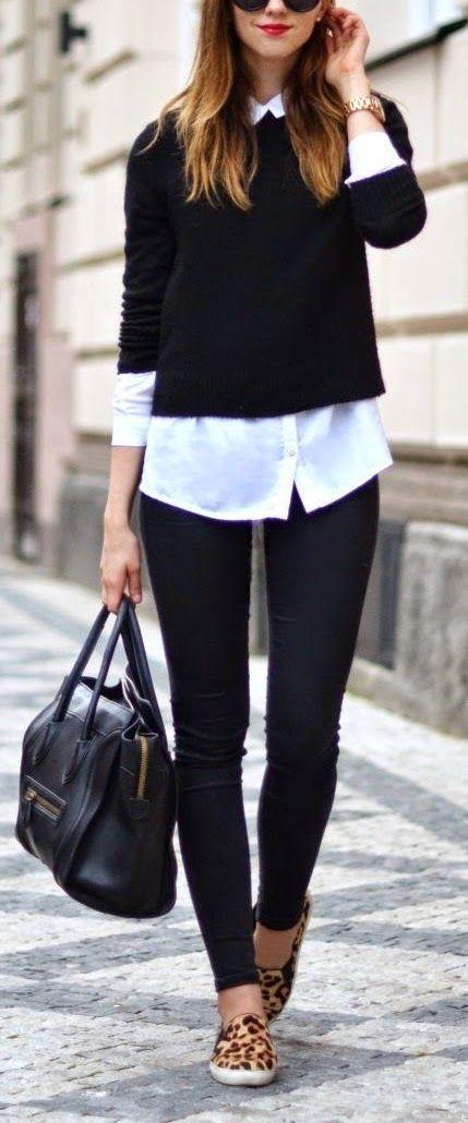 outfit clásico de invierno
