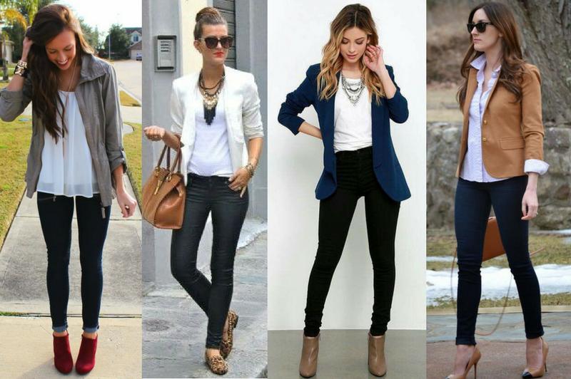outfits de oficina casuales
