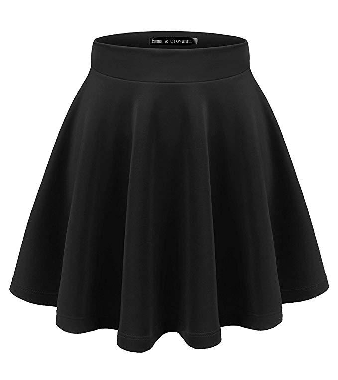 falda corta negra