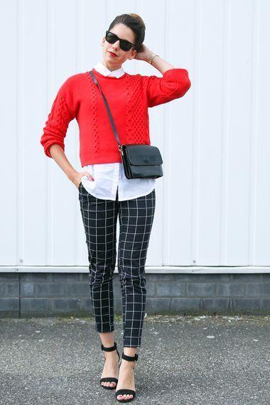 jersey rojo con pantalon