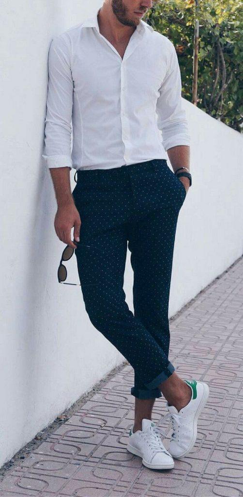 outfit de hombre casual