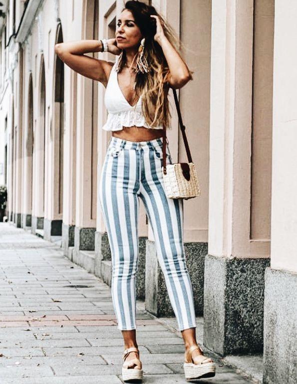 outfit de verano con pantalon
