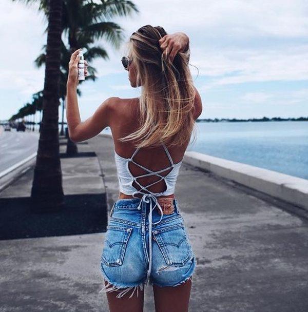 outfit de verano casual y fresco