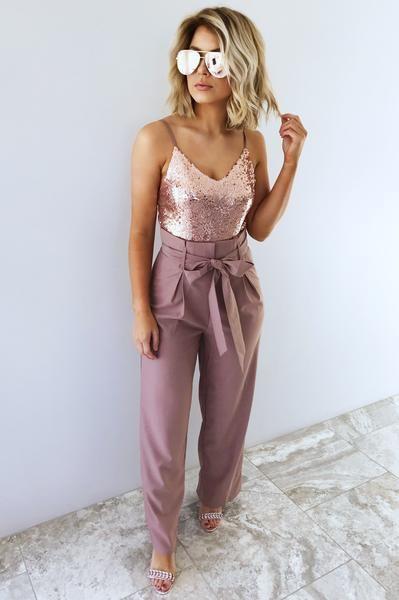 outfit rosado navidad