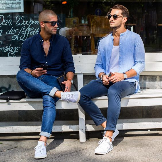 outfits para hombres casuales