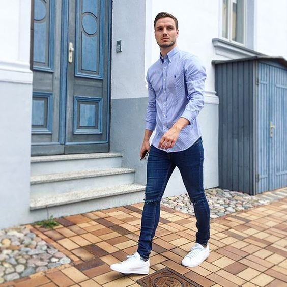 outfits casuales para hombre