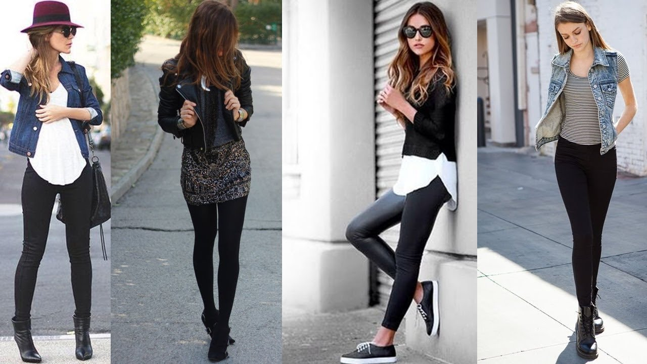 outfits con leggings