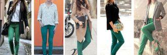 Outfit pantalón verde