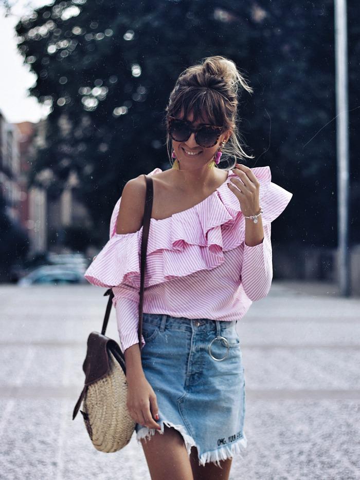 falda vaquera para verano