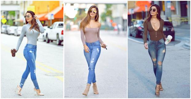 outfit de jeans