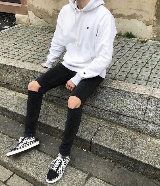 outfit de vans para hombres