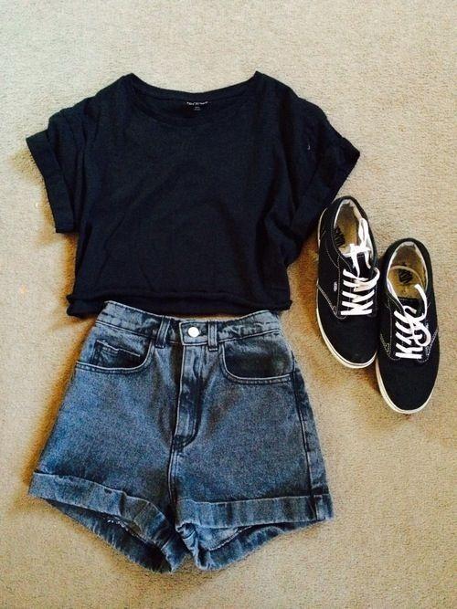 outfit de verano con vans