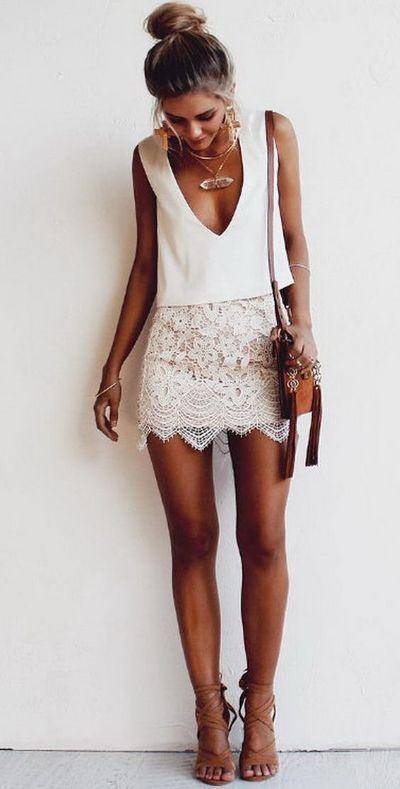 outfit de verano para la noche