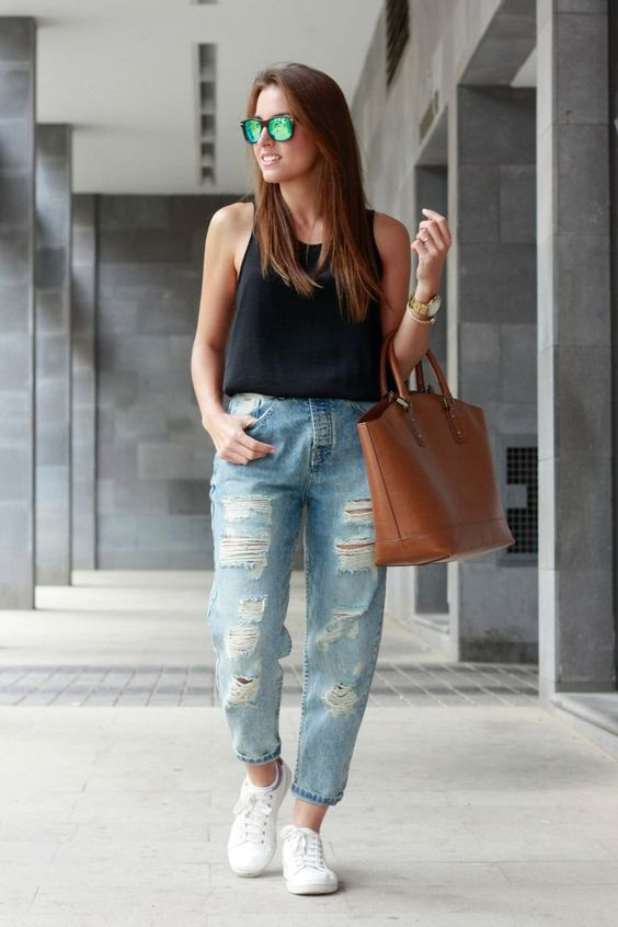 outfit deportivo chic