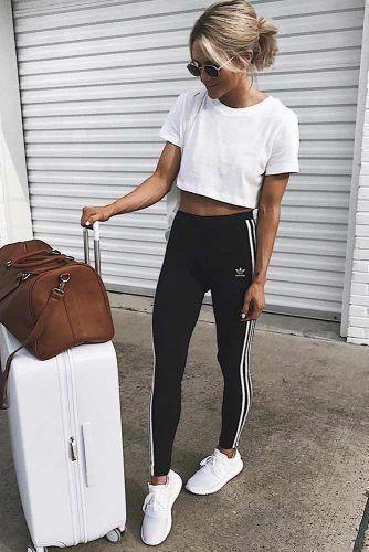 outfit deportivo de viaje