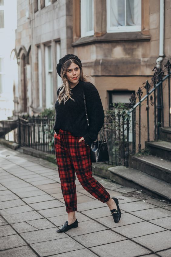 outfit grunge chic
