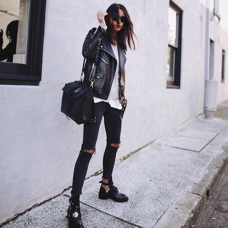 outfit grunge fashion