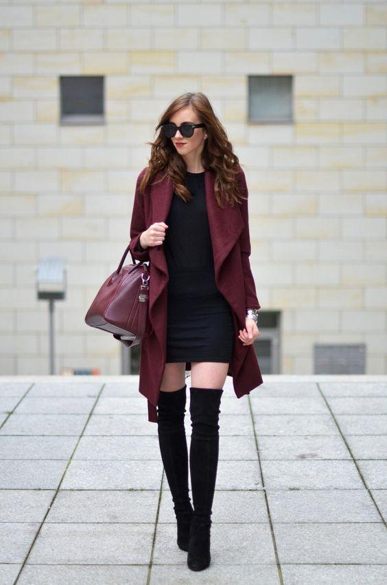 outfit sexy de invierno