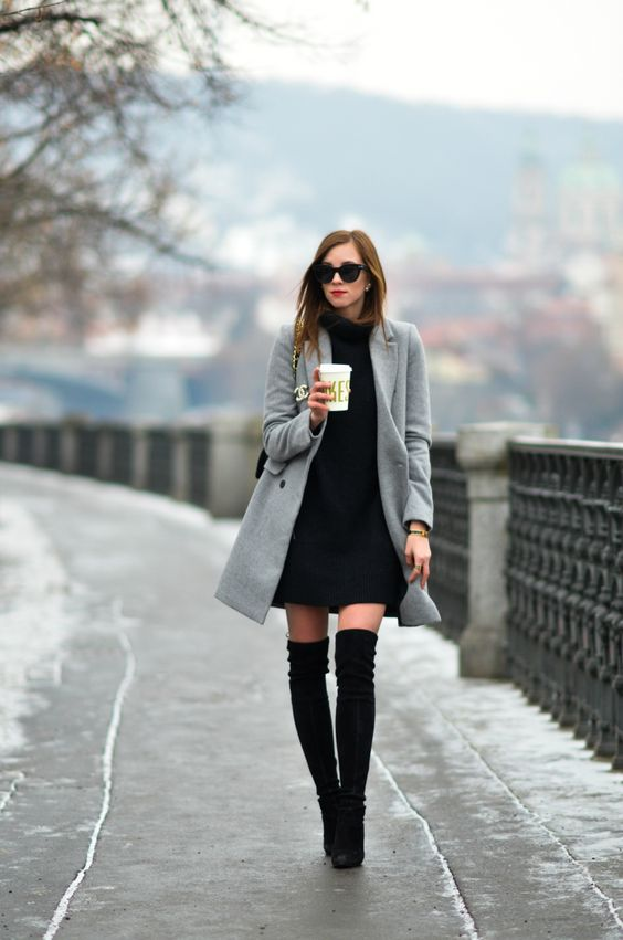 outfit sexy para invierno