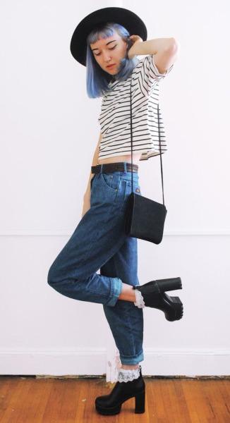 outfit tumblr sencillo grunge