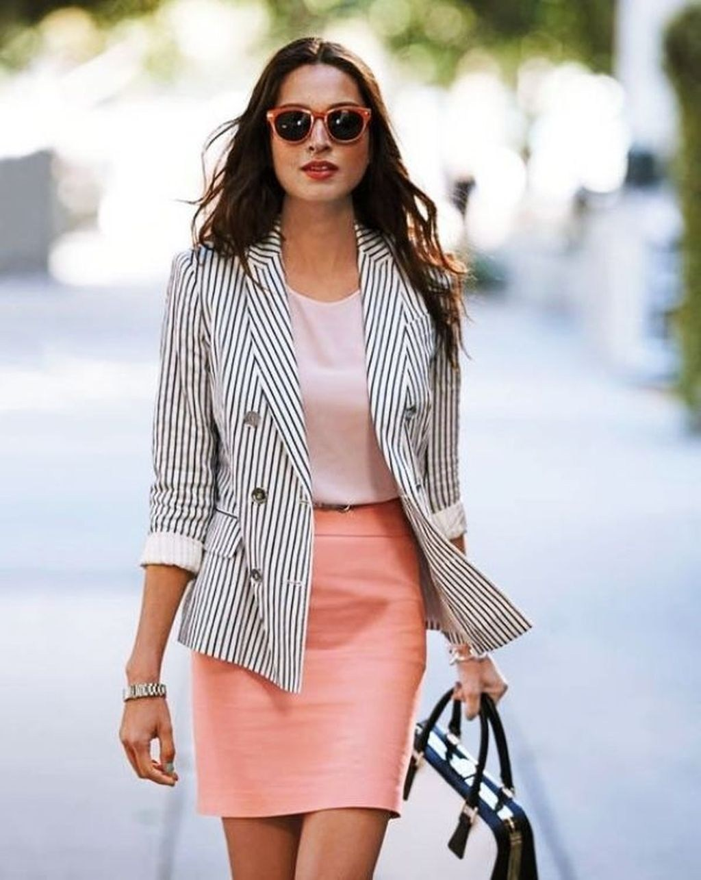 outfits de oficina para primavera