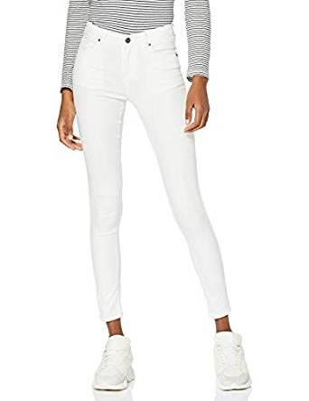 pantalon blanco para outfit de noche