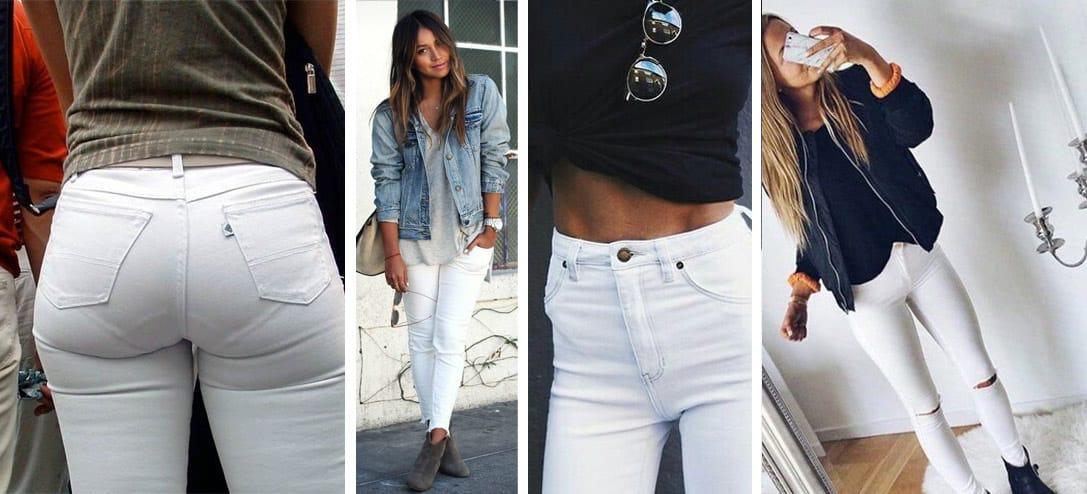 reglas para llevar pantalon blanco