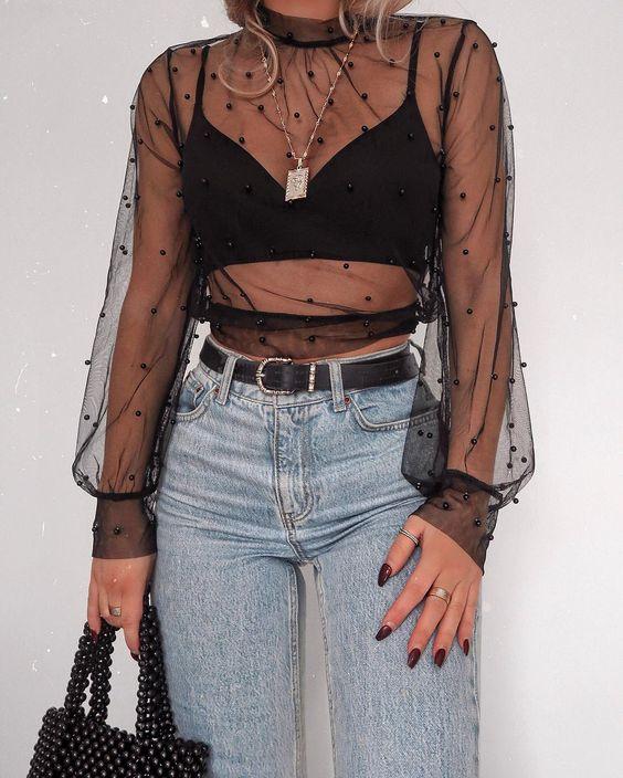 sexy outfit de noche