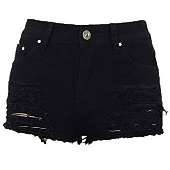 short negro de jean
