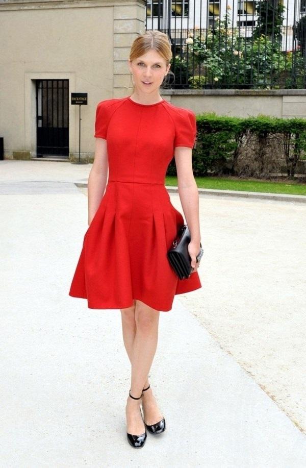 vestido rojo para invitada de comunion