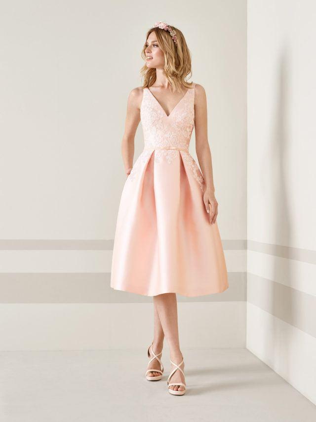 vestido lindo de graduacion tierno