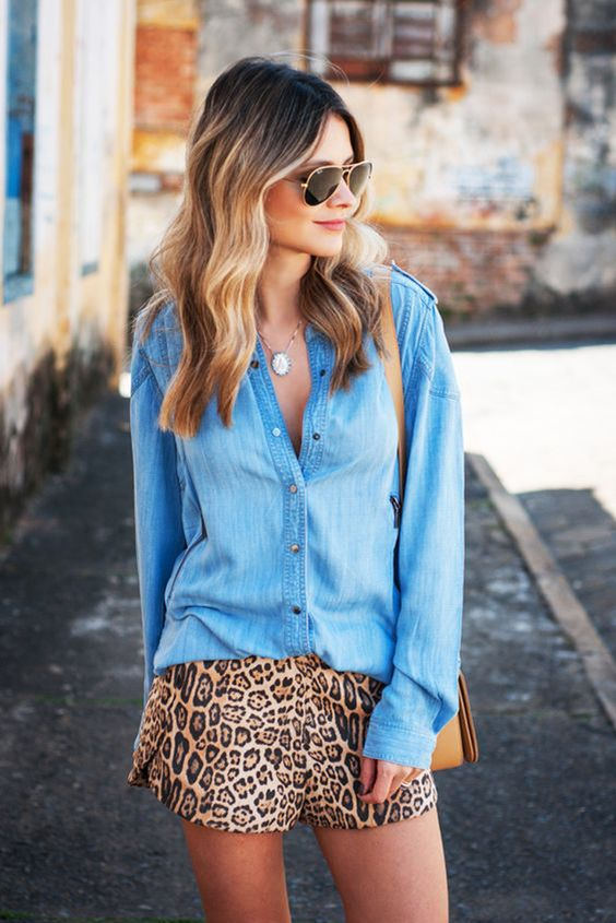 outfit con animal print
