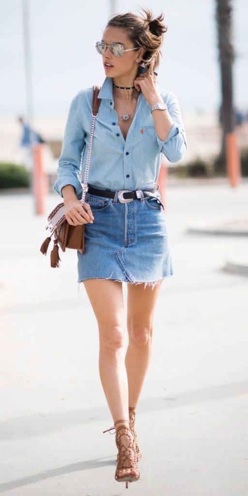 outfit de jean