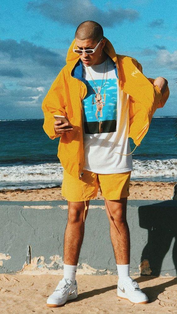 outfit de trap con short