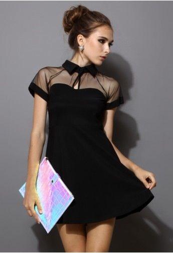 outfit tierno de vestido