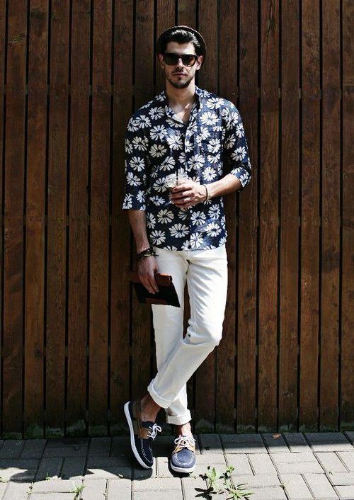 outfit verano hombre