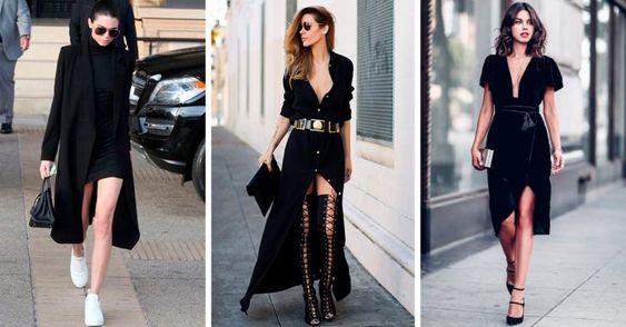 Outfit Vestido Negro Ideas Fotos Estilos 2019